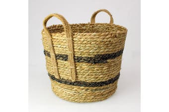 Seagrass Rope Storage Basket Natural Small
