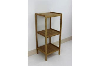 Bamboo Shelving Unit 3 Tier