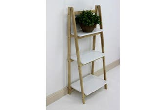 Wooden Shelving Unit Fold Up 3 Tier