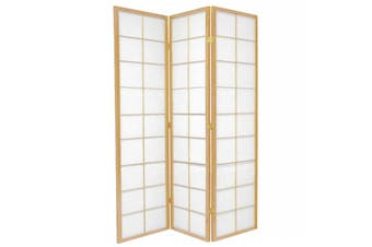 Zen Room Divider Screen Natural 3 Panel