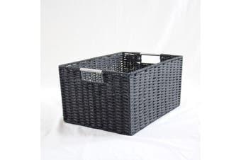 Chattel Storage Basket Black Medium