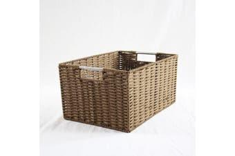 Chattel Storage Basket Brown Medium
