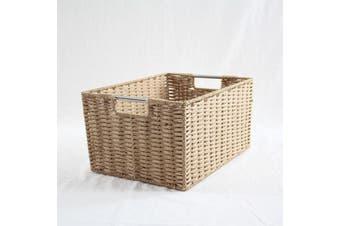 Chattel Storage Basket Beige Large