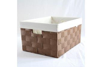Linear Storage Basket Brown Medium