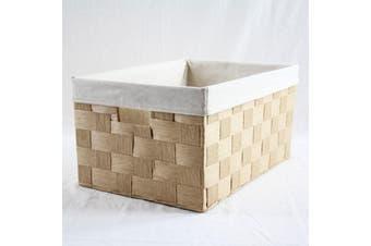 Linear Storage Basket Beige Large