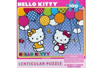 Hello Kitty 100pc Lenticular Puzzle