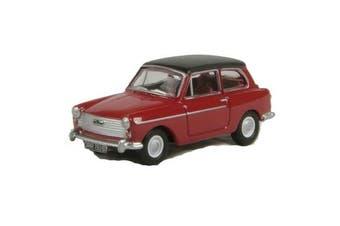 Oxford 1/76 Austin A40 (Agate Red/Black)