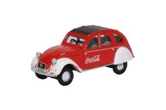 Oxford 1/76 Citroen 2CV Coca-Cola