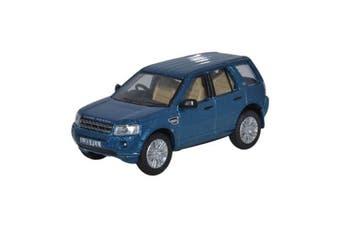 Oxford 1/76 Land Rover Freelander (Mauritius Blue)