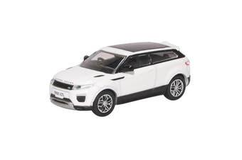 Oxford 1/76 Range Rover Evoque Coupe (Fuji White)