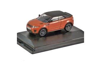 Oxford 1/76 Range Rover Evoque Convertible (Phoenix Orange)