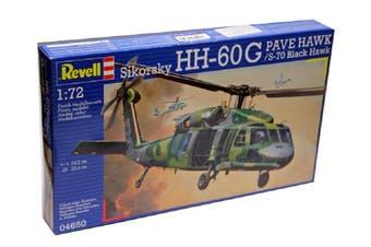 Revell 1/72 Sikorsky HH-60G Pave Hawk / S-70 Black Hawk Kit 95-04650