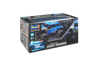 Revell Monster Truck Cross Thunder 2-Channel RC Car with GHz Remote Control