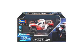 Revell Monster Truck Cross Storm 2-Channel RC Car with GHz Remote Control