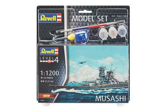 Revell 1/1200 Musashi Set