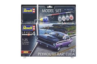 Revell 1/25 '70 Plymouth AAR Cuda Model Set