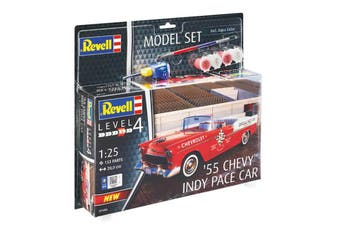 Revell 1/25 55 Chevy Indy Pace Car Model Set