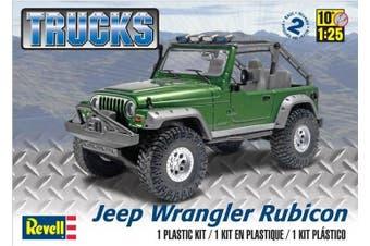 Revell 1/25 Jeep Wrangler Rubicon Kit 95-85-4053