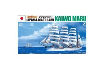 Aoshima 1/350 Japan 4-Mast Bark Kaiwo Maru Sailing Ship Kit