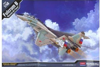 "Academy 1/48 Fulcrum B ""Russian Air Force"" Kit ACA-12292"