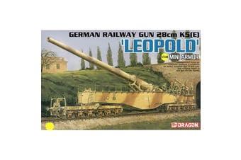 Dragon 1/144 German Railway Gun 28cm K5(E) 'Leopold' Kit