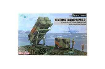 Dragon 1/35 MIM-104C Patriot (PAC-2) Surface-To-Air Missile (SAM) System M901 Launching Station Kit