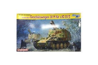 Dragon 1/35 Sd.Kfz.138/1 Geschutzwagen 38 M fur s.IG.33/2 Kit