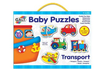 Transport 6x2pcs Puzzles