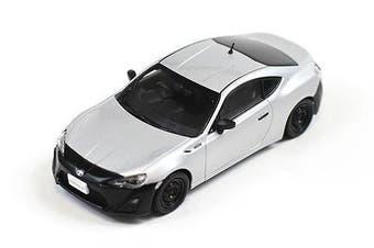 Jcollection 1/43 Toyota 86 RC Version 2012 (silver/black) JCO280
