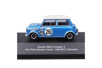 Atlas 1/43 Austin Mini Cooper S 1969 BTCC Champion - Alec Poole (Equipe Arden)