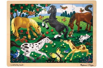 Frolicking Horses 48pcs Puzzle