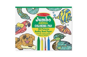 Melissa & Doug Jumbo Coloring Pad: Animal
