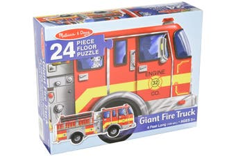 Giant Fire Truck 24pcs Floor Puzzle
