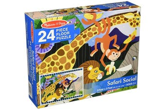 Safari Social 24pcs Floor Puzzle