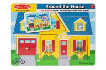 Around the House 8pcs Sound Puzzle