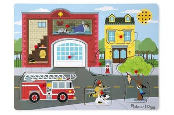 Around the Fire Station 8pcs Sound Puzzle