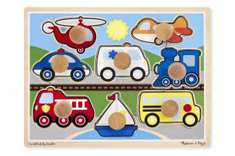Vehicles Jumbo Knob Puzzles