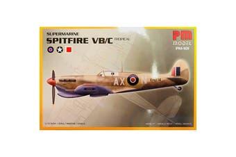 PM Model 1/72 Supermarine Spitfire VB/C Tropical Kit