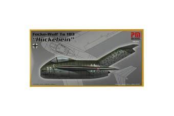 "PM Model 1/72 Focke-Wulf Ta 183 ""Huckebein"" Kit"