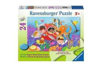 Deep Diving Friends 24pcs Puzzle