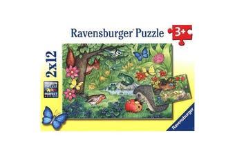 Garden Vistors 2x12pcs Puzzle