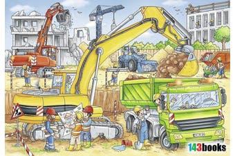 Hard at Work by Stefan Lohr 2x24pcs Puzzle