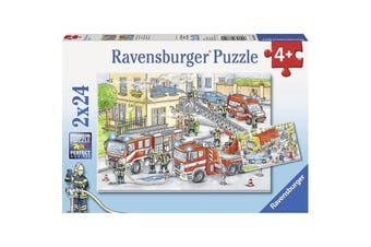 Heroes In Action 2x24pcs Puzzle