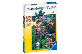 Animal Kingdom by Gail Gastfield 35pcs Puzzle
