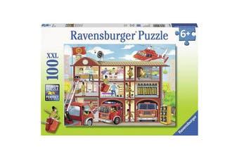 Firehouse Frenzy 100pcs Puzzle