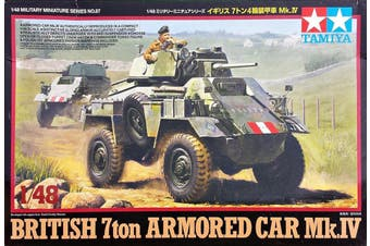 Tamiya 1/48 British 7ton Armored Car Mk.IV Kit