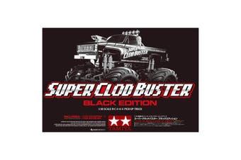 Tamiya 1/10 Super Clod Buster Black Edition RC Kit