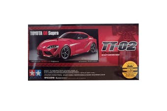 Tamiya 1/10 TT-02 Chassis Toyota GR Supra RC Kit