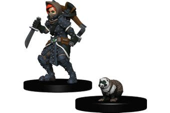 Wardlings: Girl Rogue With Badger