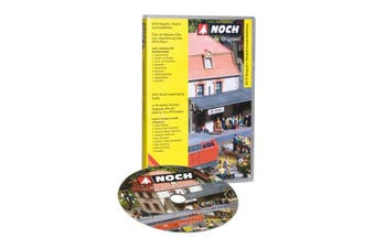 NOCH GUIDEBOOK A FAMILY HOBBY MODEL RAIL KIDS LANDSCAPING GUIDELINE BOOK 71905